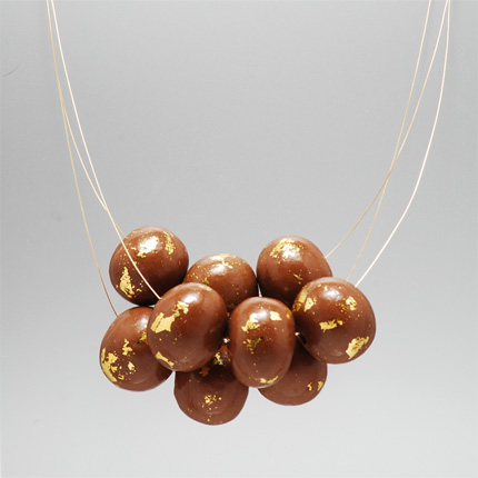 Edible Jewelry Center Of Attention Chocolate Necklace
